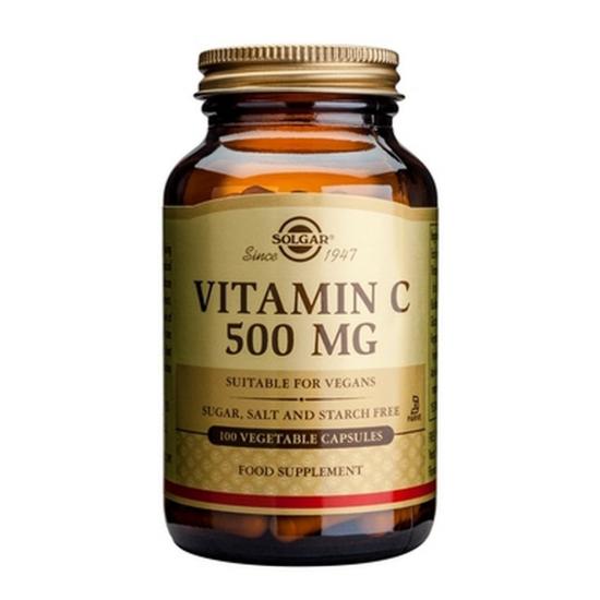Vitamina C 500mg, 100 caps, SOLGAR