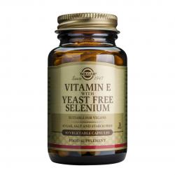 Vitamina E + Selenium, 50 caps, SOLGAR