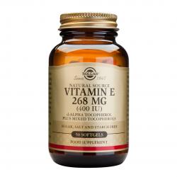 Vitamina E 268 mg (400 IU), 50 caps, SOLGAR