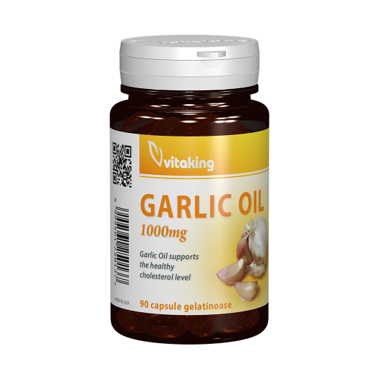 Garlic Oil 1000 mg, 90 capsule, Vitaking