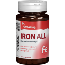 Iron All, 100 tablete, Vitaking