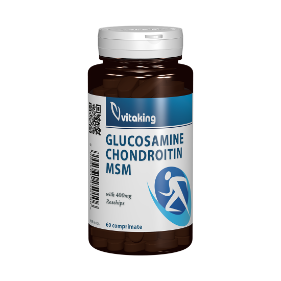 Glucosamin, Chondroitin, MSM, 60 tablete, Vitaking