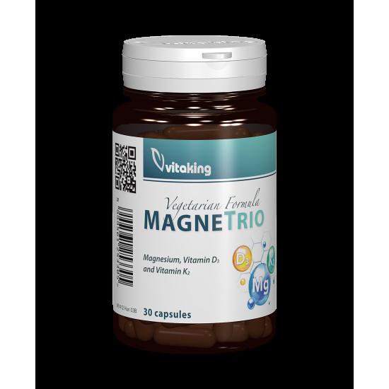 Magne Trio, 30 capsule, Vitaking