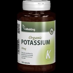 Potassium (Gluconate) 99 mg, 100 capsule, Vitaking