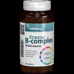 Stress B-Complex, 60 tablete, Vitaking