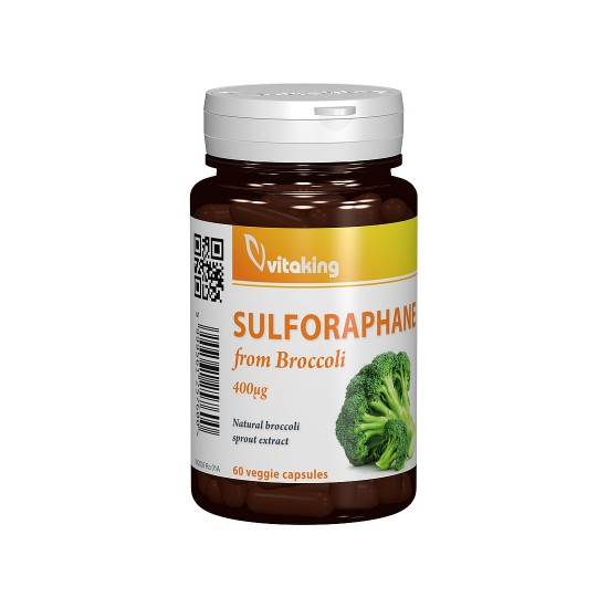 Sulforaphane 400 mg, 60 capsule, Vitaking