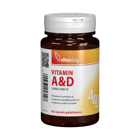 Vitamin A&D, 60 capsule