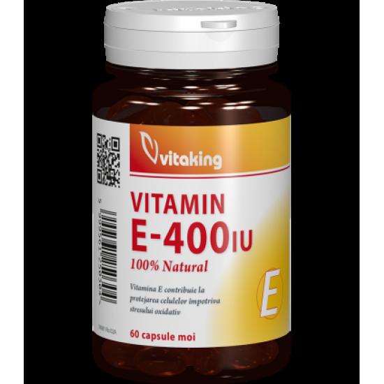 Vitamin E-400 I.U, 60 capsule, Vitaking