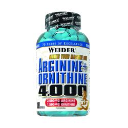 Arginine+Ornithine 4000, 180 capsule