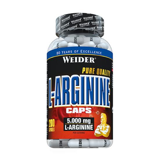 L-Arginine Caps, 200 capsule, Weider