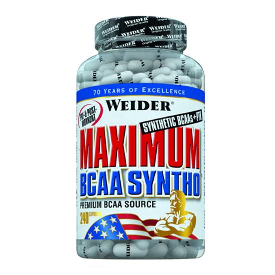 Maximum BCAA Syntho + PTK,  240 capsule, Weider