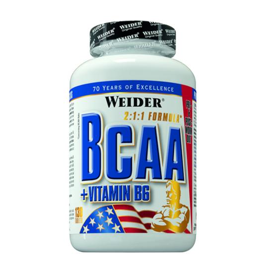 BCAA + Vitamina B6, 130 tablete, Weider