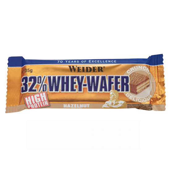 32% Whey-Wafer Bar, 35 g