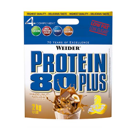 Protein 80 Plus, 2000 g, Weider