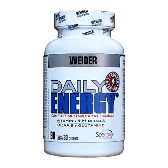 Daily Energy, 90 cps, Weider