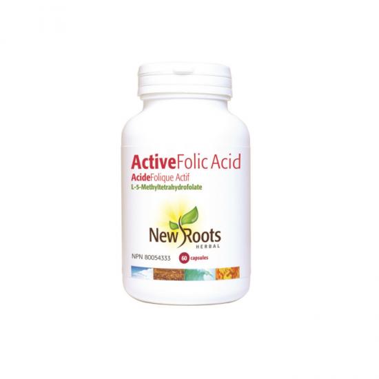 ACTIVE ACID FOLIC 1000 mcg (1 mg) – 60 capsule vegetale