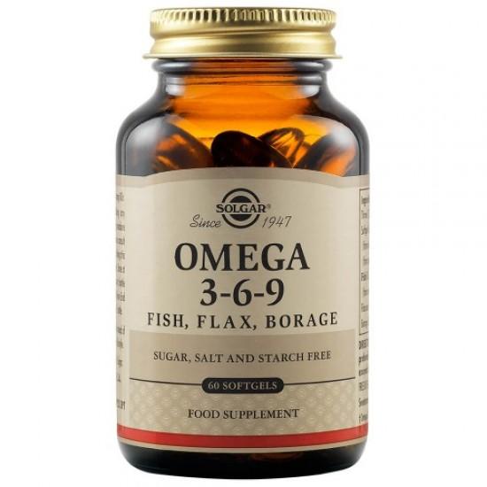 Solgar Omega 3-6-9 60cps