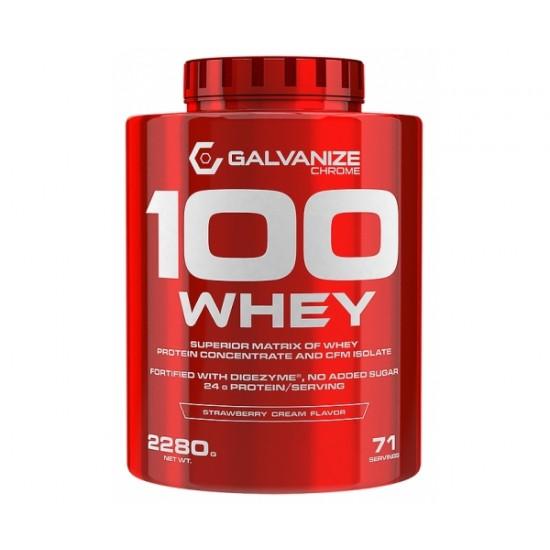 100 Whey, 2280 g, Galvanize Nutrition