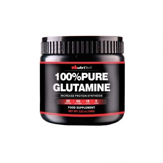 100% Pure Glutamine, 100 g, Nutritech