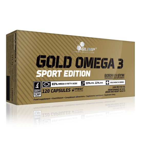 Gold Omega 3 Sport Edition, 120 capsule, Olimp