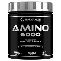 Amino 6000, 200 tablete, Galvanize Nutrition