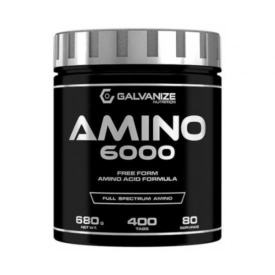 Amino 6000, 400 tablete, Galvanize Nutrition