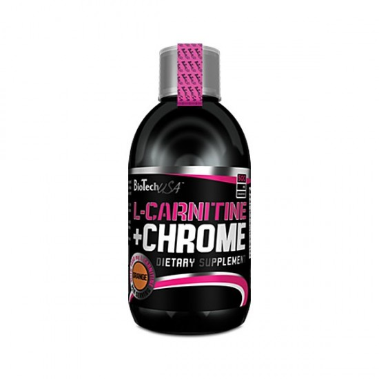 L-Carnitine + Chrome, 500 ml, Biotech