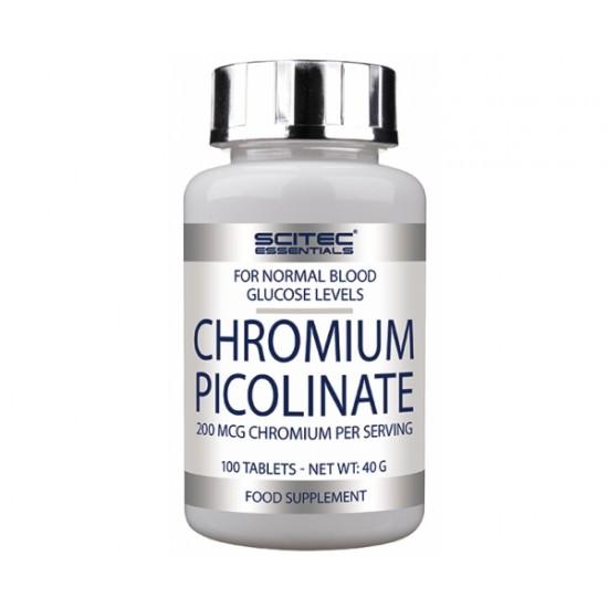 Chromium Picolinate, 100 tablete, Scitec Nutrition