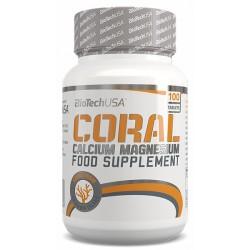 Coral Calcium-Magnesium, 100 tablete, Biotech