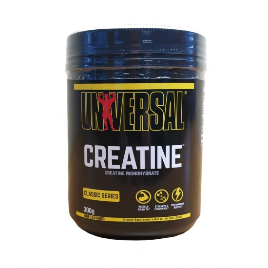 Universal Creatine Powder, 300 g, Universal Nutrition