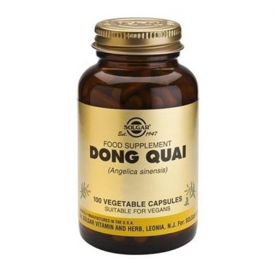 Dong Quai 200mg, 100 caps, SOLGAR