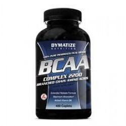 BCAA Complex 2200, 400 caps, Dymatize