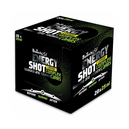 Energy Shot, 20 fiole, Biotech
