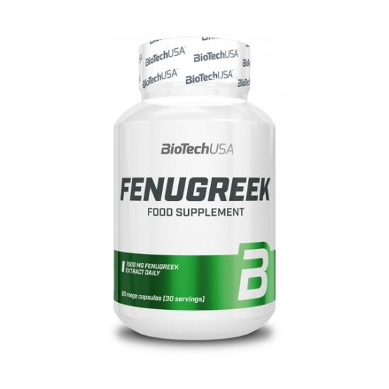Fenugreek - extract natural din semințe de schinduf, 60 cps, Biotech