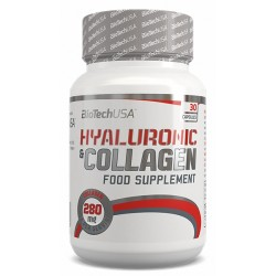 Hyaluronic & Collagen, 30 capsule, Biotech