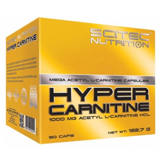 Hyper Carnitine, 90 capsule, Scitec