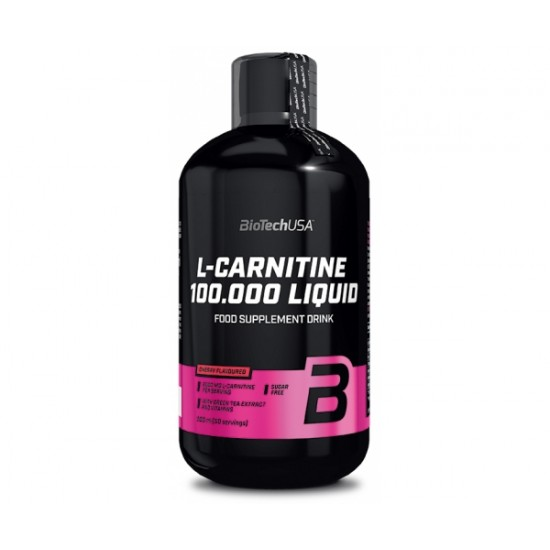 L-Carnitine 100.000 Liquid, 500 ml, Biotech