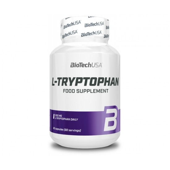 L-Tryptophan, 60 capsule, Biotech