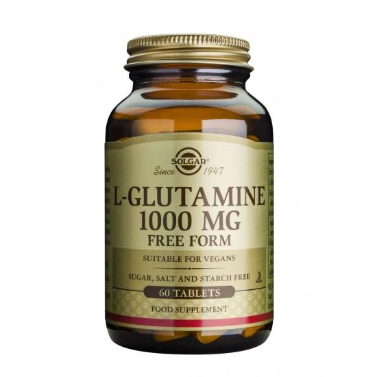 L-Glutamine 1000 mg, 60 tab, SOLGAR