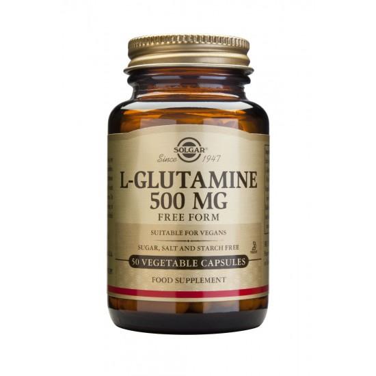 L-Glutamine 500 mg, 50 caps, SOLGAR