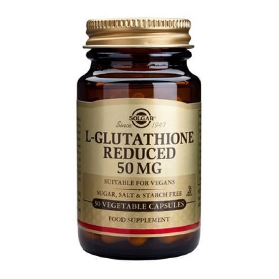 L-Glutathione 50mg, 30 caps, SOLGAR