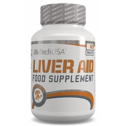 Liver Aid, 60 tablete, Biotech