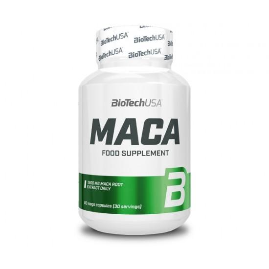 Maca - extract de rădăcină de maca, 60 capsule, Biotech
