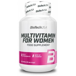Multivitamin for Women, 60 tablete, Biotech