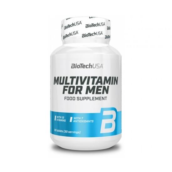 Multivitamin for Men, 60 tablete, Biotech