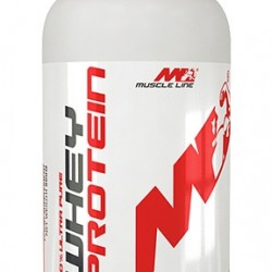 100% Ultra Pure Whey Protein 900g, MuscleLine