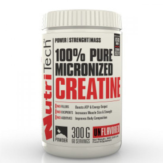 100% Pure Creatine, 300 g, Nutritech