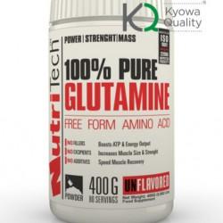 100% Pure Glutamine, 400 g, Nutritech