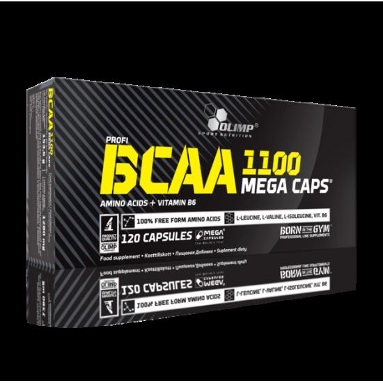 BCAA 1100 Mega Caps, 120 capsule, Olimp