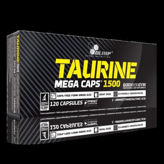 Taurine Mega Caps, 120 capsule, Olimp